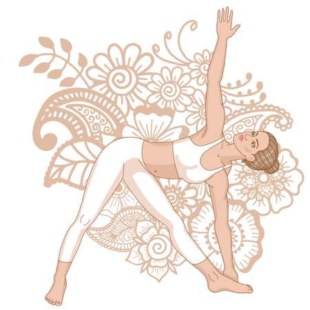 76764118-silueta-de-mujer-pose-de-yoga-triángulo-extendido-utthita-trikonasana